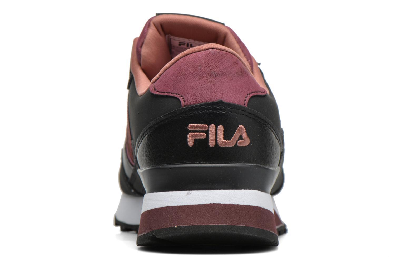 Baskets FILA Loulou A Plateform Bordeaux vue droite