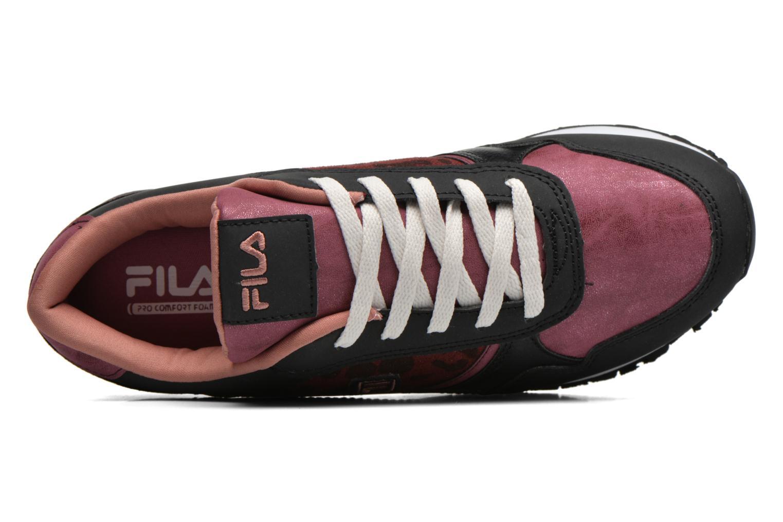 Baskets FILA Loulou A Plateform Bordeaux vue gauche