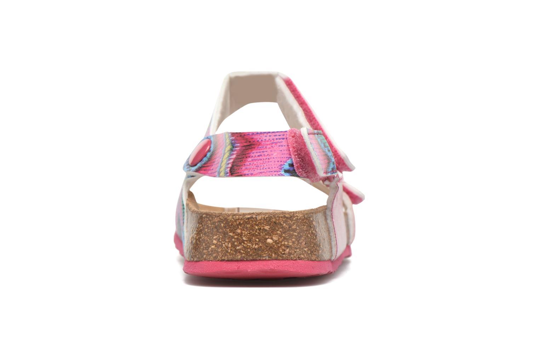 Sandalen Desigual SHOES_BIO 2 E rosa ansicht von rechts