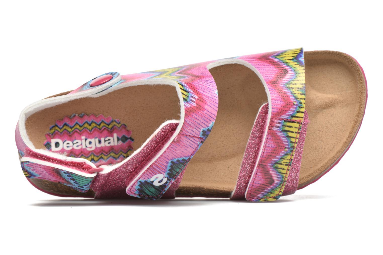 Sandalen Desigual SHOES_BIO 2 E rosa ansicht von links