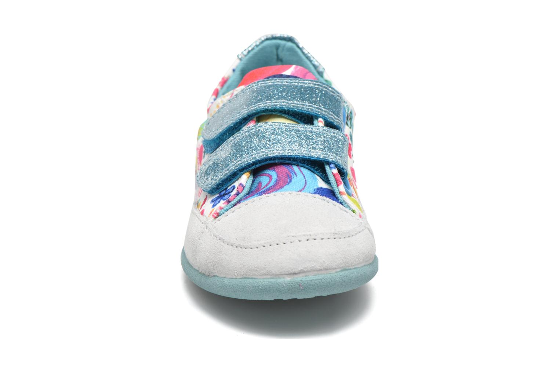 Chaussures à scratch Desigual SHOES_MINI HAPPY 2 Bleu vue portées chaussures