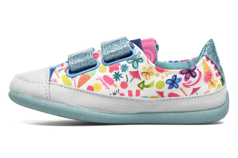 Chaussures à scratch Desigual SHOES_MINI HAPPY 2 Bleu vue face
