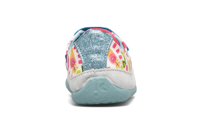 Chaussures à scratch Desigual SHOES_MINI HAPPY 2 Bleu vue droite