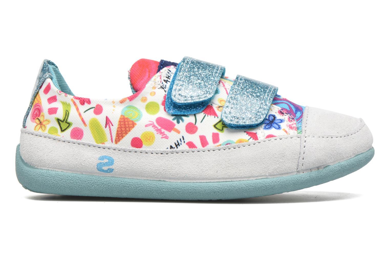 Chaussures à scratch Desigual SHOES_MINI HAPPY 2 Bleu vue derrière