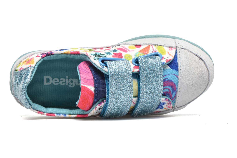 Chaussures à scratch Desigual SHOES_MINI HAPPY 2 Bleu vue gauche