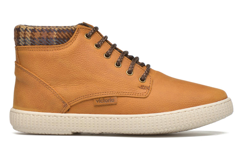 Sneaker Victoria Bota Piel Bombeada Cuello braun ansicht von hinten