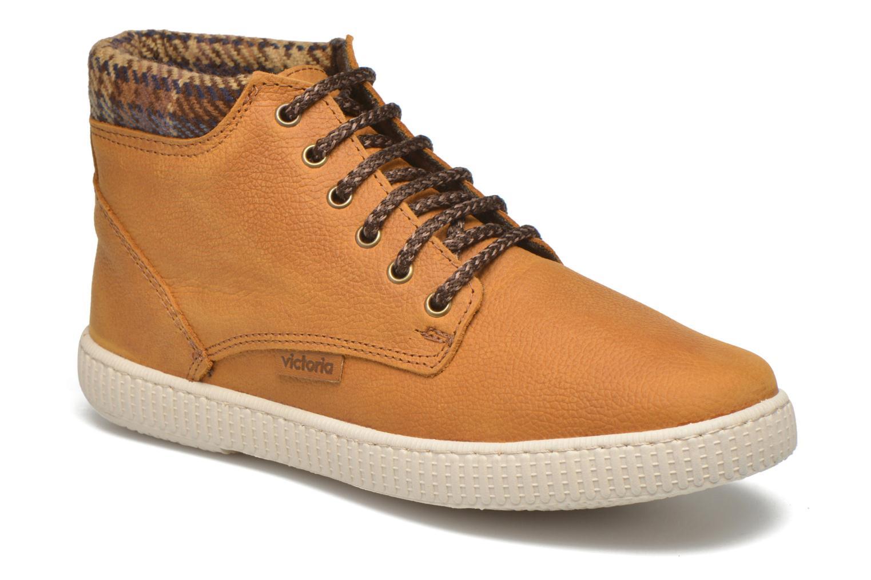 Sneaker Victoria Bota Piel Bombeada Cuello braun detaillierte ansicht/modell