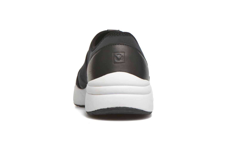 Baskets Victoria Sneakers Elastico Noir vue droite