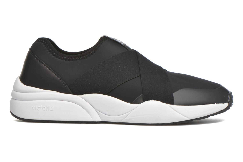 Baskets Victoria Sneakers Elastico Noir vue derrière