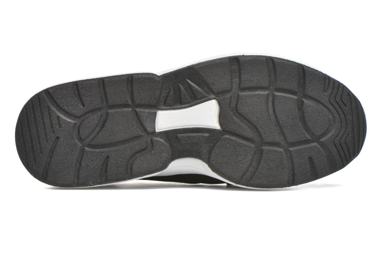 Baskets Victoria Sneakers Elastico Noir vue haut