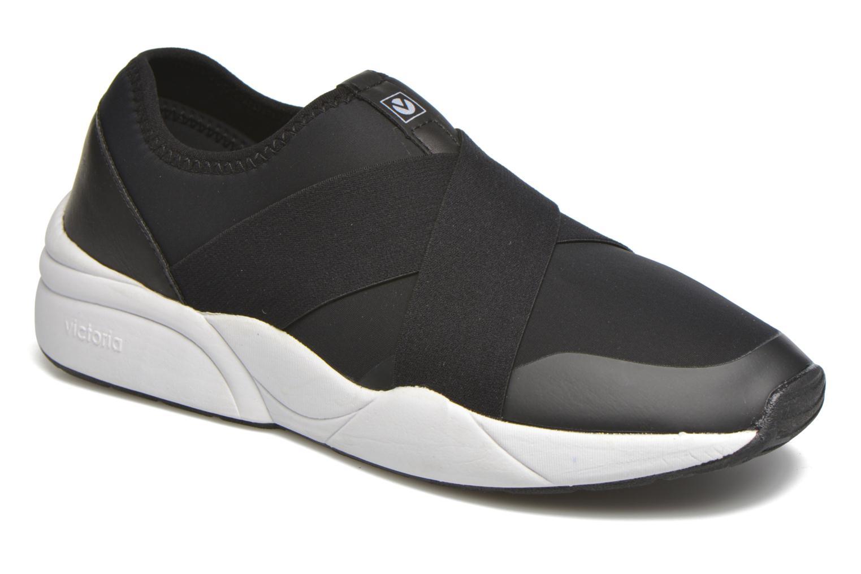 Baskets Victoria Sneakers Elastico Noir vue détail/paire