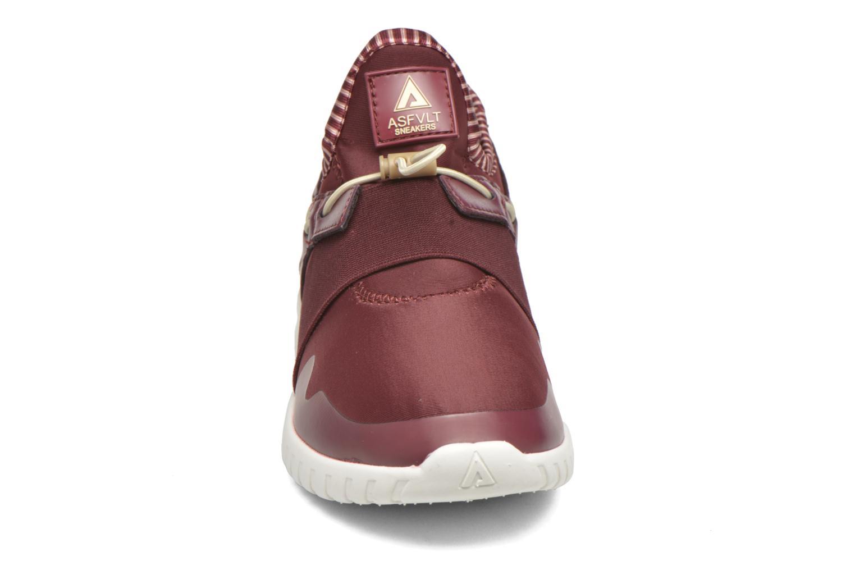 Baskets Asfvlt Area Mid Rouge vue portées chaussures