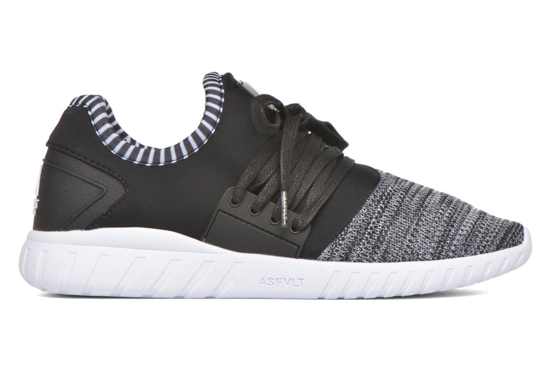 Sneaker Asfvlt Area Low schwarz ansicht von hinten