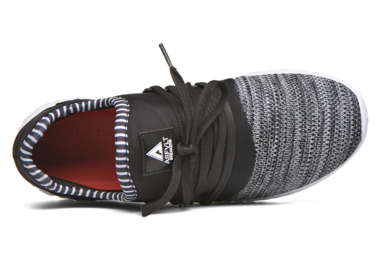 Sneaker Asfvlt Area Low schwarz ansicht von links