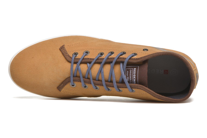 Sneakers Redskins Zelek Bruin links