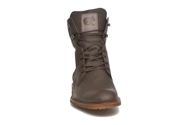 Bottines et boots Floris Van Bommel Ted Marron vue portées chaussures