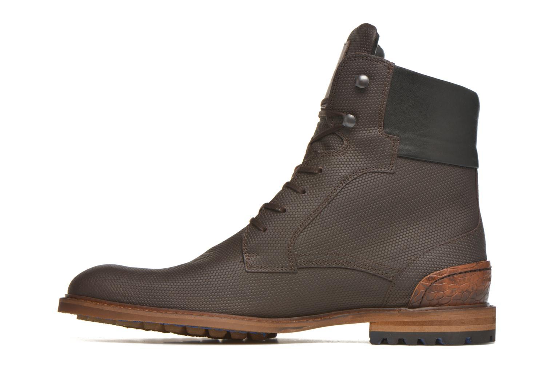 Bottines et boots Floris Van Bommel Ted Marron vue face