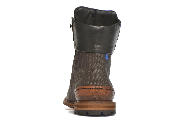 Bottines et boots Floris Van Bommel Ted Marron vue droite
