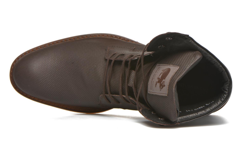 Bottines et boots Floris Van Bommel Ted Marron vue gauche