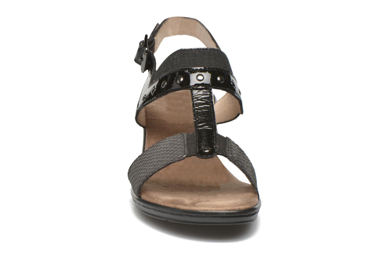 Sandales et nu-pieds Sweet Zaela Noir vue portées chaussures