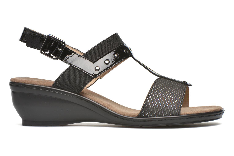 Sandales et nu-pieds Sweet Zaela Noir vue derrière