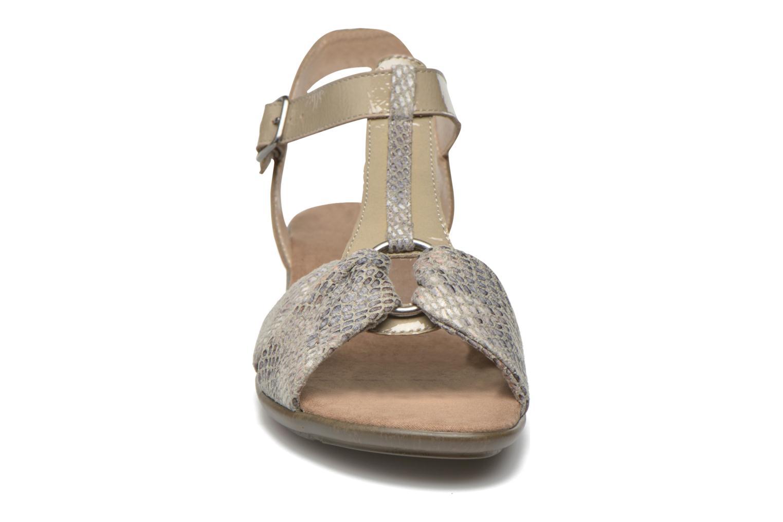 Sandales et nu-pieds Sweet Zoumba Beige vue portées chaussures