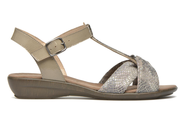 Sandales et nu-pieds Sweet Zoumba Beige vue derrière