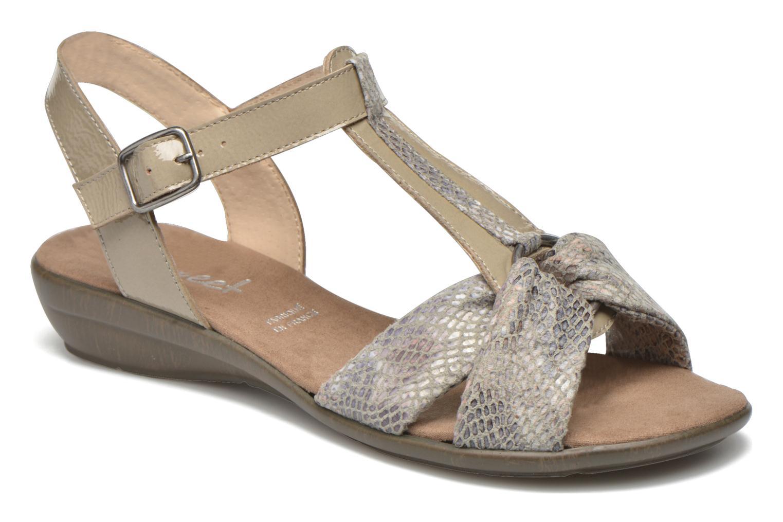 Sandales et nu-pieds Sweet Zoumba Beige vue détail/paire