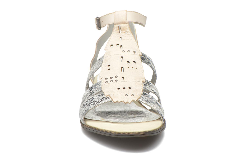 Sandales et nu-pieds Madison Rubi Blanc vue portées chaussures