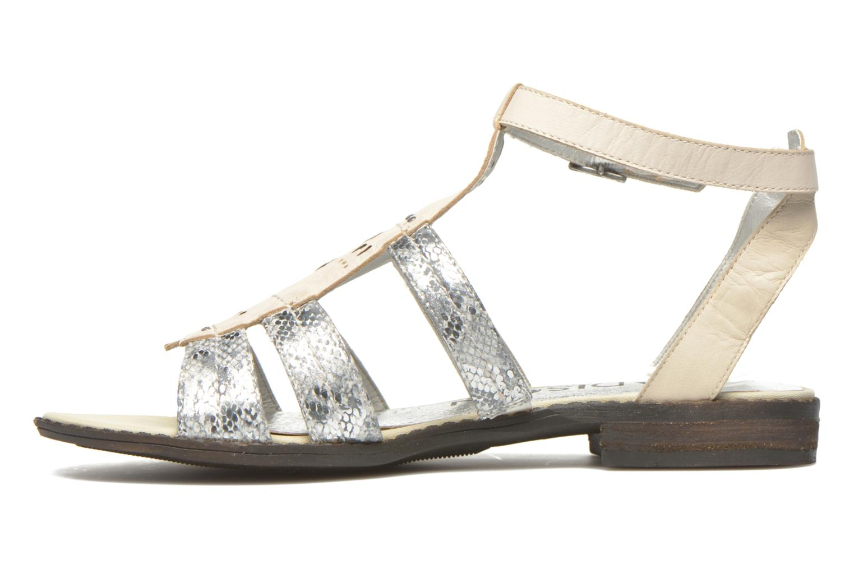 Sandales et nu-pieds Madison Rubi Blanc vue face