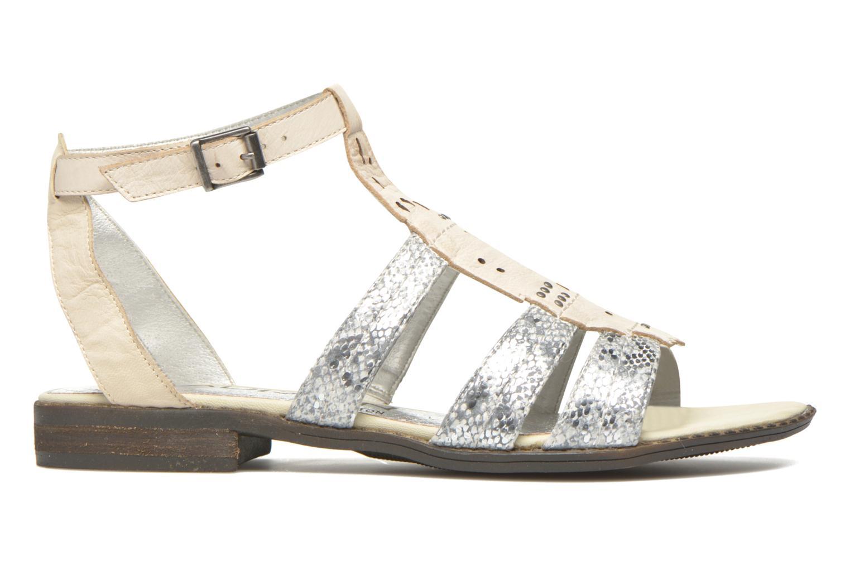Sandales et nu-pieds Madison Rubi Blanc vue derrière