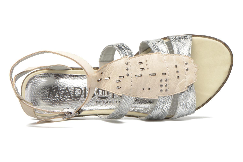 Sandales et nu-pieds Madison Rubi Blanc vue gauche