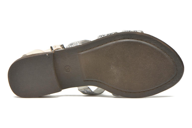 Sandales et nu-pieds Madison Rubi Blanc vue haut