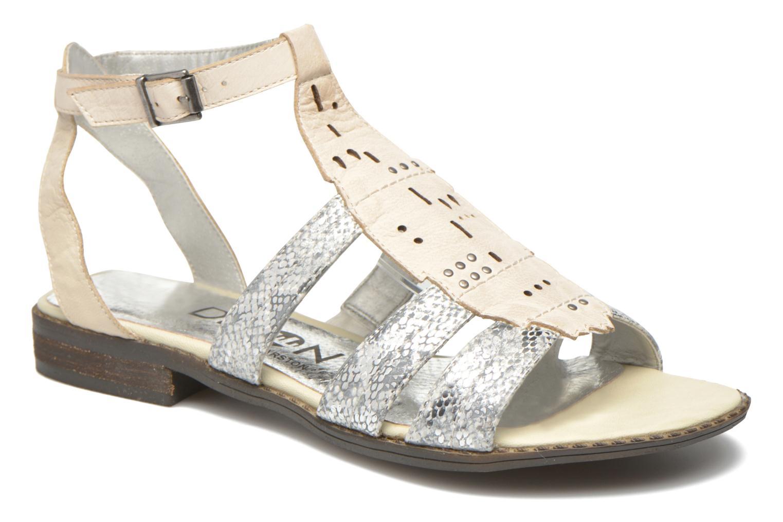 Sandales et nu-pieds Madison Rubi Blanc vue détail/paire