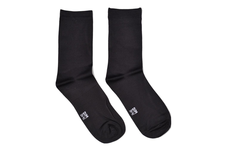 Chaussettes et collants Dim Chaussettes Skin Pack de 2 Noir vue détail/paire