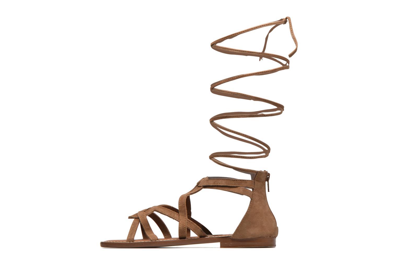 Sandals L'Atelier Tropézien Josette Beige front view