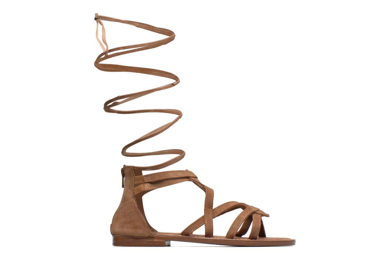 Sandals L'Atelier Tropézien Josette Beige back view