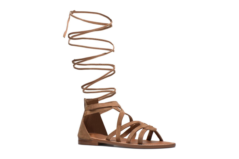 Sandals L'Atelier Tropézien Josette Beige detailed view/ Pair view