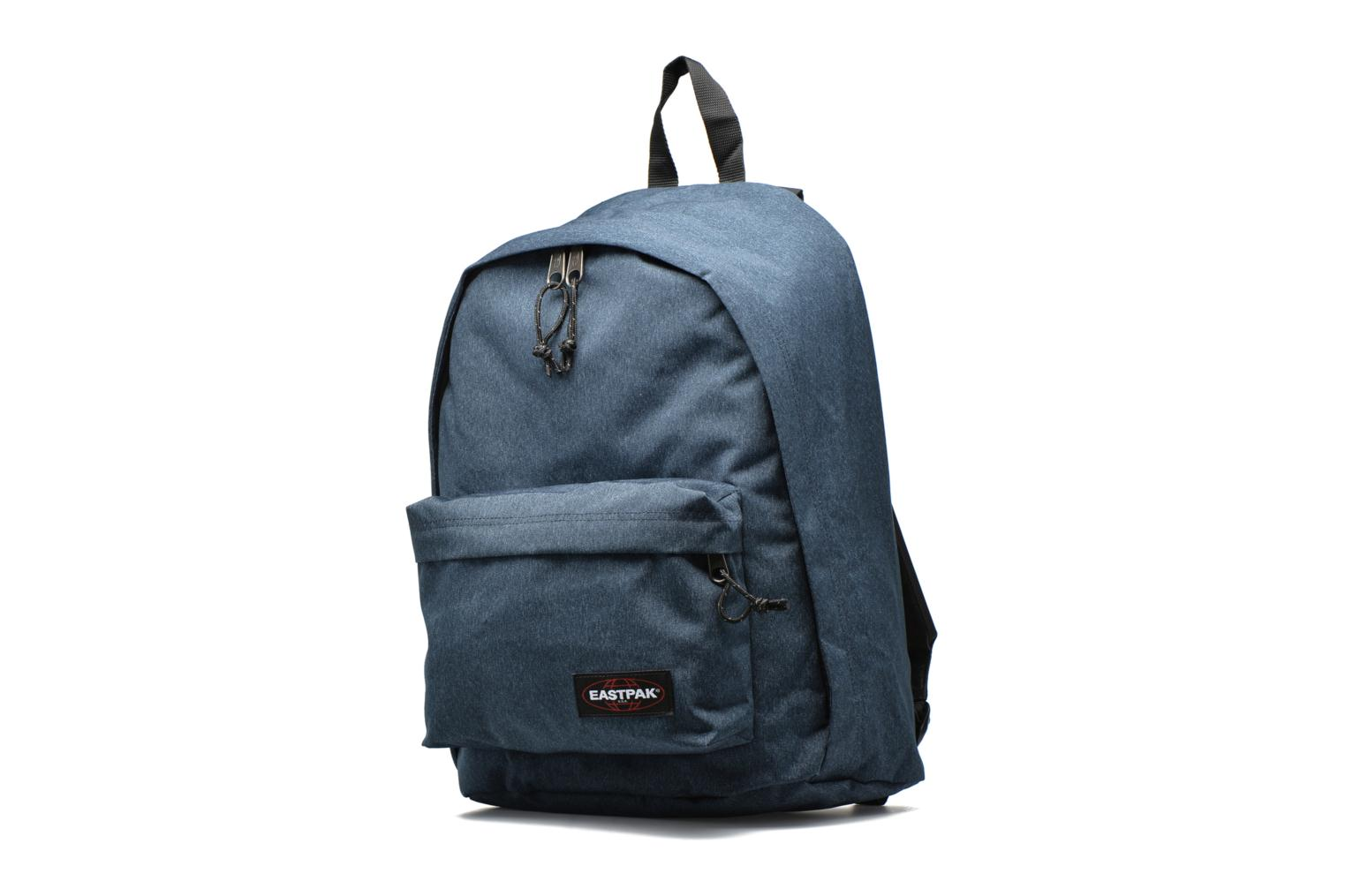 School bags Eastpak OUT OF OFFICE Sac à dos toile Blue model view