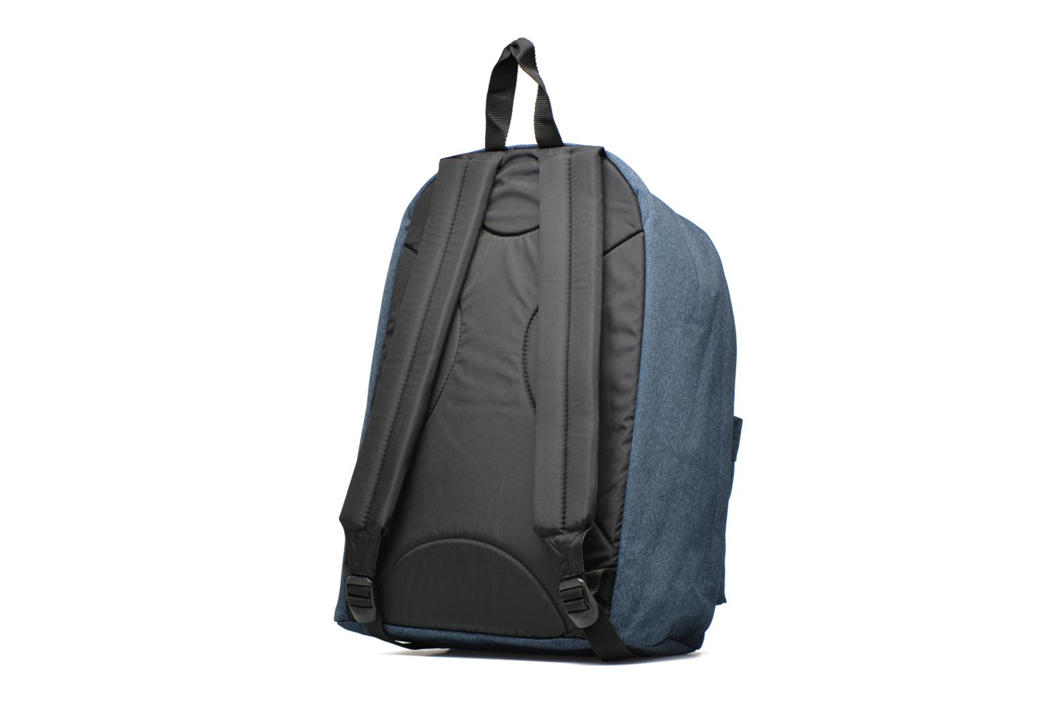 School bags Eastpak OUT OF OFFICE Sac à dos toile Blue view from the right