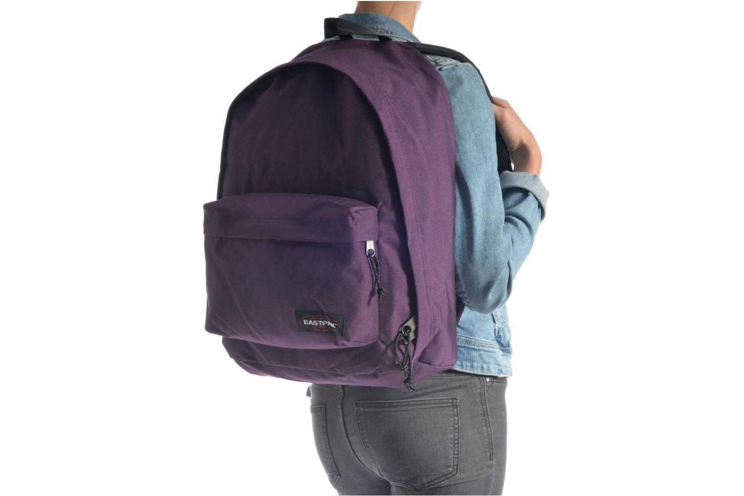 School bags Eastpak OUT OF OFFICE Sac à dos toile Blue view from above