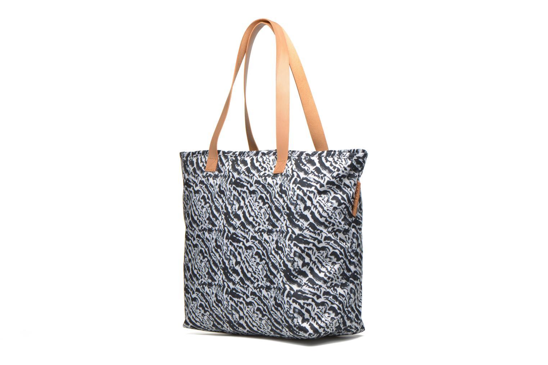Handbags Eastpak FLASK Cabas Black model view