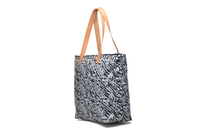 Handtaschen Eastpak FLASK Cabas schwarz ansicht von rechts