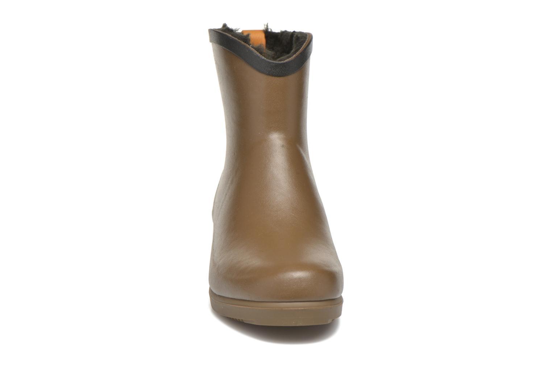 Bottines et boots Aigle Ms Jul Bot Fur Marron vue portées chaussures
