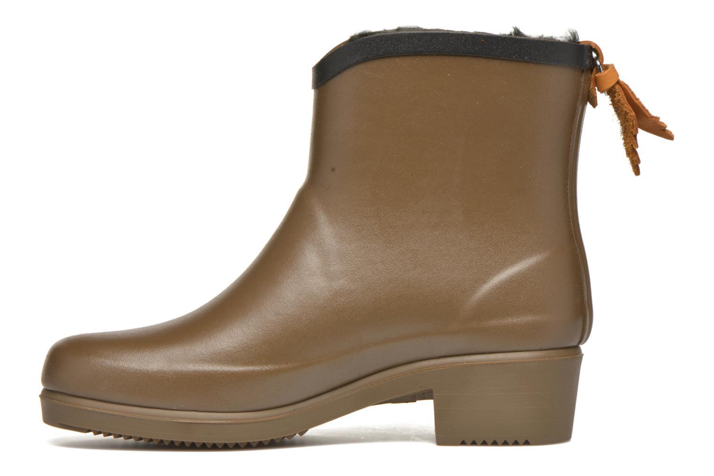 Bottines et boots Aigle Ms Jul Bot Fur Marron vue face