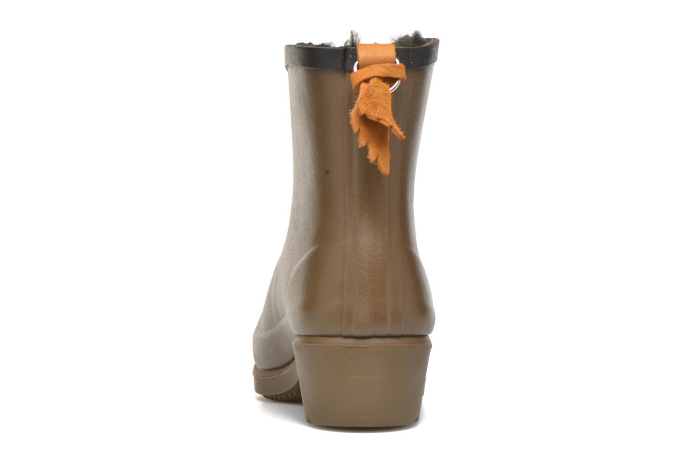 Bottines et boots Aigle Ms Jul Bot Fur Marron vue droite