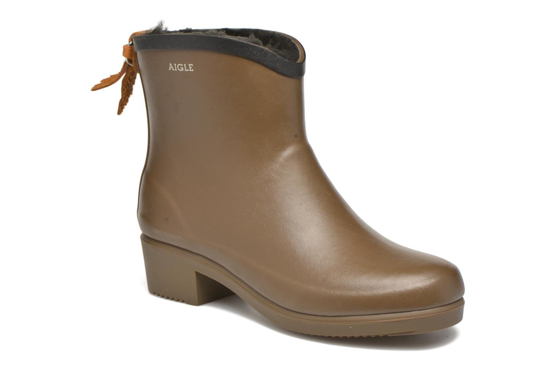 Bottines et boots Aigle Ms Jul Bot Fur Marron vue détail/paire