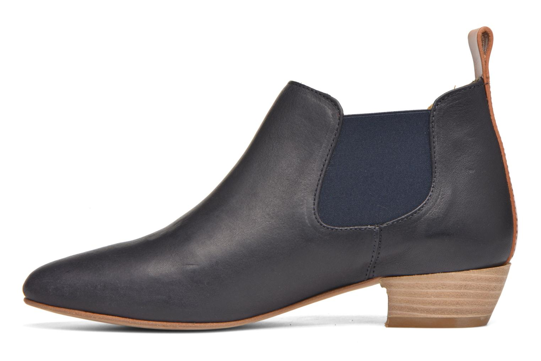 Boots en enkellaarsjes Aigle Mitis Blauw voorkant