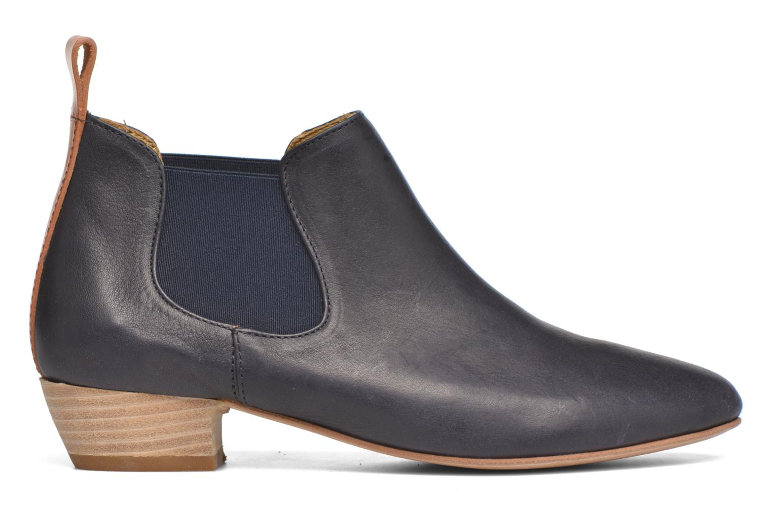 Ankle boots Aigle Mitis Blue back view