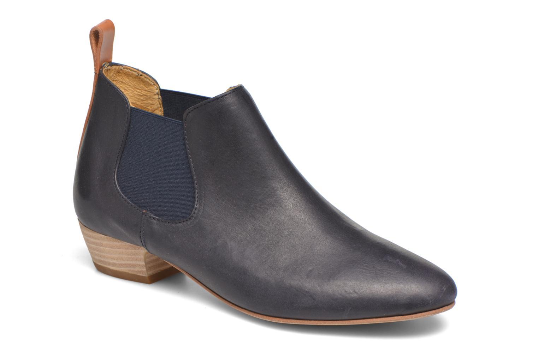 Boots en enkellaarsjes Aigle Mitis Blauw detail